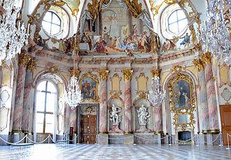 Rococo - Image: Kaisersaal Würzburg