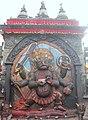 Kal Bhairav of Hanuman-Dhoka Durbar Square.JPG