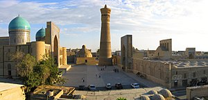 Bukhara - Kok-Gumbaz mosque