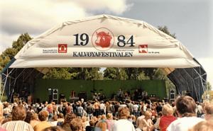 Kalvøyafestivalen - Kalvøyafestivalen 1984. Photo: Bjarte Hetland