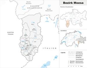 Moesa District - Image: Karte Bezirk Moësa 2009
