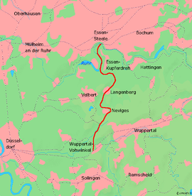 WuppertalVohwinkelEssenberruhr railway Wikipedia