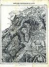100px karte der berchtesgadener alpen blatt i