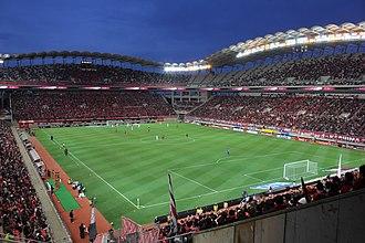 Kashima Antlers - Inside the Kashima Soccer Stadium