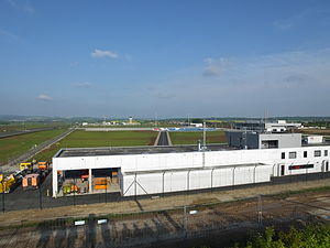 Kassel Airport - Apron overview