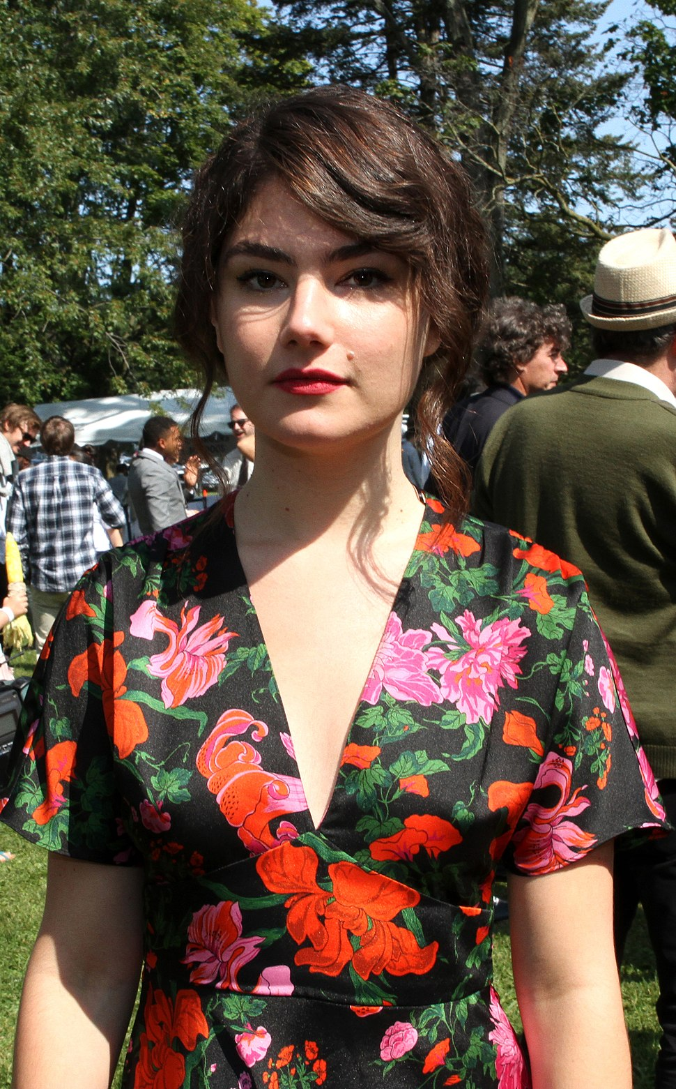 Katie Boland at the 2017 CFC Annual BBQ Fundraiser (36331880624) (cropped)