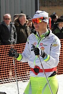 Katja Višnar Slovenian cross-country skier