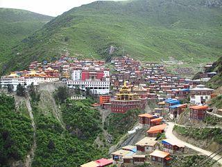 Katok Monastery One of the six principal monasteries of the Nyingma school of Tibetan Buddhism