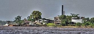 Cuyuni-Mazaruni - Image: Kaw Island Saw Milll HDR panoramio