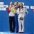 Kazan 2015 - Victory Ceremony 50m butterfly W.jpg