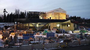Keilaniemi metro station construction site 5.JPG