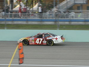 JTG Daugherty Racing - Kelly Bires during the 2007 Ford 300 at the Homestead-Miami Speedway.