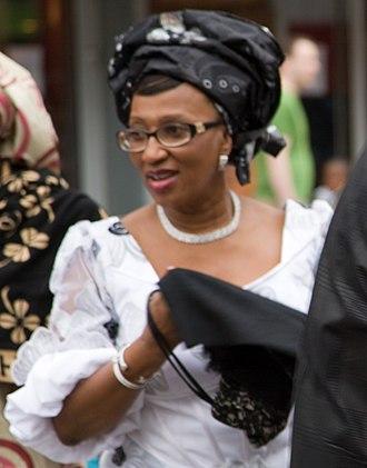 Kema Chikwe - Kema Chikwe at an Igbo new yam festival, Dublin, Ireland.