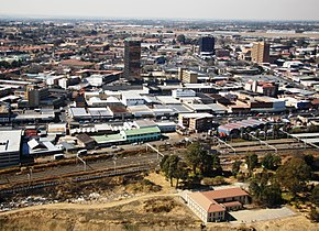 The Central Business District of Kempton Park