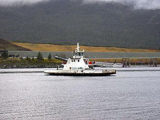 Tongass Narrows - The Ketchikan and Gravina Island Ferry along the Tongass Narrows