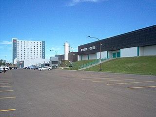 Keystone Centre building in Manitoba, Canada