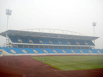The Amazing Race Vietnam 2012 - My Dinh National Stadium was the starting line of the Amazing Race Vietnam