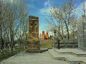 Khachkar in Abovyan
