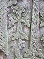 Khachqar, detale, Chorut church, Arzakan 03.JPG