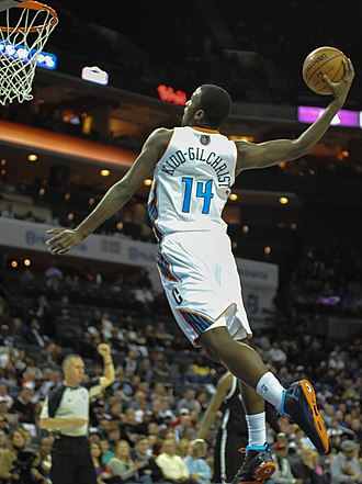 Michael Kidd-Gilchrist - Kidd-Gilchrist goes up for a dunk in 2013