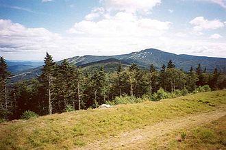 Killington Peak - Killington Peak seen from Pico Peak