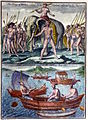 King of Cochin and small Malabar boats.jpg