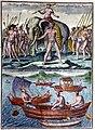 King of Cochin and small Malabar boats.jpg