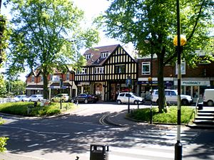 Kings Norton - Image: Kings Norton Green