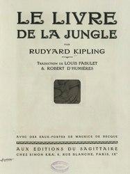 Rudyard Kipling: Le Livre de la jungle