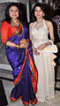Kiran Juneja and Bhagyashree at Engagement ceremony of Arjun Hitkari with Gayatri(1).jpg