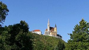 Gratwein-Straßengel - The Maria Straßengel church, view from south