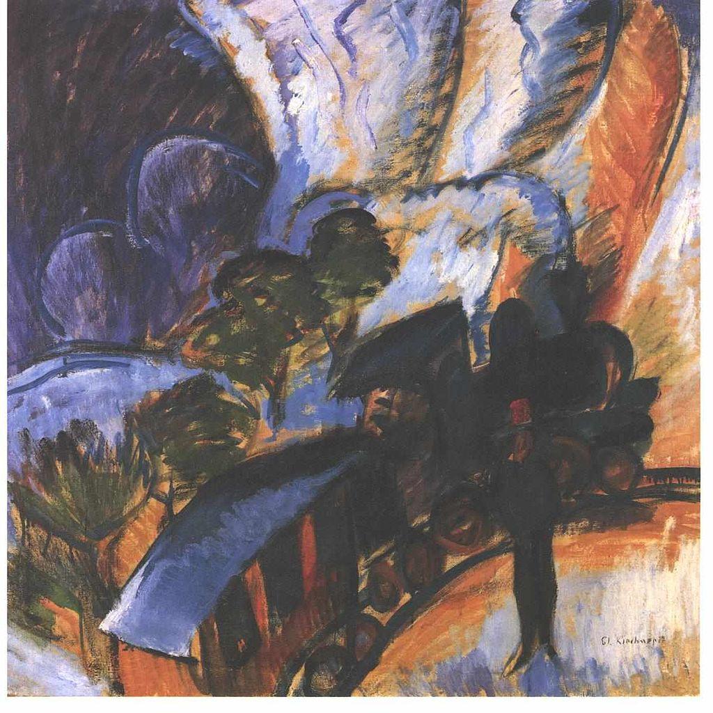Rhätische Bahn Davos - Ernst Ludwig Kirchner