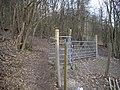 Kissing gate in Trosley Country Park - geograph.org.uk - 1752022.jpg