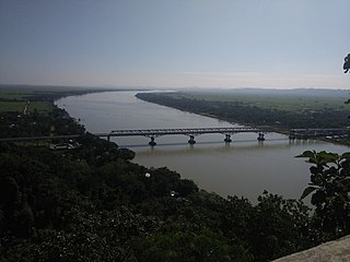 Kaladan River river in India