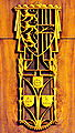 Klagenfurt Bahnhofstrasse Wirtschaftskammer Festsaal Kaernten Wappen Otto Bestereimer25022009 92.jpg