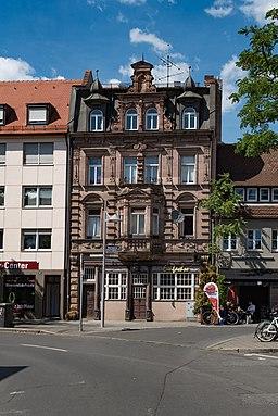 Klaragasse in Nürnberg