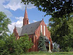 Kołdrąb (p.Żnin) nr A 799, kościół św.Jana Chrzciciela 1901 (arch.Alexis Langer) f2007-06-16 AdaM.JPG