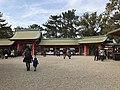 Kojumon Gate and Korokumon Gate of Sumiyoshi Grand Shrine.jpg
