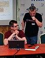 Konferencja WMPL 2013 CLI i Julo.jpg