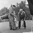 Koning Leopold in Eindhoven om mee te doen aan golfwedstrijden, Bestanddeelnr 915-2835.jpg