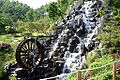 Korea-Andong-Waterfall built in a park near the Forestry Museum-01.jpg