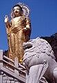 Korea-Beoun-Beopjusa Golden Maitreya Statue 1754-06.JPG