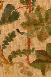 x-shaped embroidery stitch