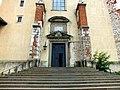 Kraków, Tyniec, kościół pw. świętych Apostołów Piotra i Pawła, portal.jpg