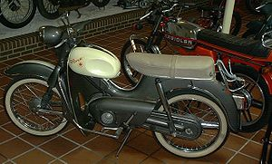 Kreidler - 1950s and '70s examples of the 50 cc Kreidler Florett