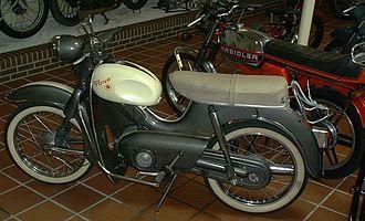 Kreidler - 1950s and '70s examples of the 50 cc Kreidler Florett