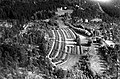 Krigskirkegård for tyske soldater, Ekebergåsen, Jomfrubråtveien, flyfoto, 1952, Widerøes Flyveselskap Rolf Ingelsrud, Oslo byarkiv, A-20027 Ua 0005 003.jpg