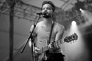The Tallest Man on Earth - Mattsson performing as The Tallest Man on Earth at Bonnaroo 2013