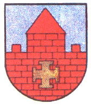 Krustpils Castle - Image: Krustpils gerb