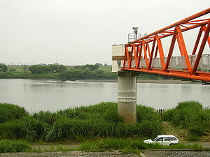 Tone River - Kurihashi Water Level Observatory (June 2005)
